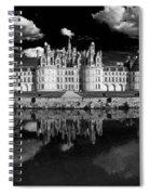 Loire Castle, Chateau De Chambord Spiral Notebook