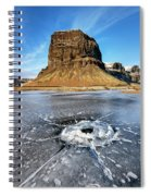 Lomagnupur Mountain Iceland Spiral Notebook