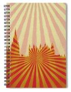 London Pop Art Spiral Notebook