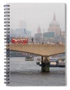 London Skyline Spiral Notebook