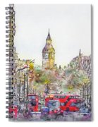 London Street 1 Spiral Notebook