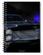 Long Black Spiral Notebook