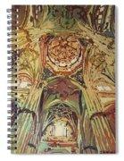 Looking Up Salamanca Cathedral Spiral Notebook