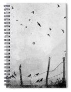 Looks Like Rain II Spiral Notebook