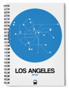 San Francisco Blue Subway Map Spiral Notebook