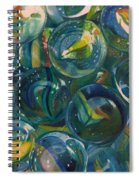 Losing  My Marbles Spiral Notebook