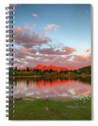 Lost Lake Sunset Spiral Notebook
