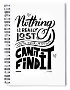 Lost Until Mom Cant Find It Funny Humor Gift Or Present For Wife Spiral Notebook