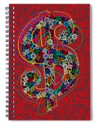 Louis Vuitton Dollar Sign-7 Spiral Notebook
