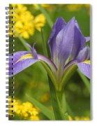 Louisiana Iris Spiral Notebook