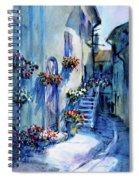 Lourmarin Walk Spiral Notebook