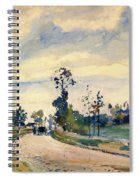 Louveciennes, Road Of Saint-germain - Digital Remastered Edition Spiral Notebook