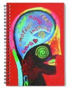 Love And Trust Spiral Notebook