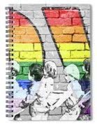 Love Is For Everyone Spiral Notebook