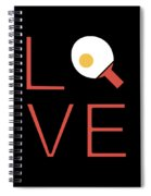 Love Ping Pong Super Cute And Fun Love Gift Idea Spiral Notebook