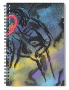 Love Thru The Stars  Spiral Notebook