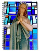Lovely Mary Spiral Notebook