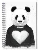 Lovely Panda  Spiral Notebook