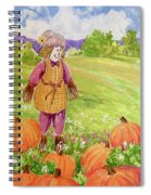 Lovey Takes A Walk Spiral Notebook
