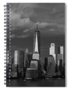 Lower Manhattan Spiral Notebook
