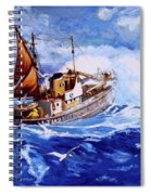 Lowestoft Trawler Spiral Notebook