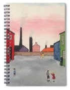 Lowry In Japanese Bloom Spiral Notebook