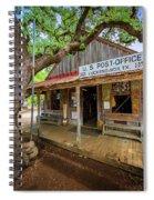 Luckenbach Town Spiral Notebook