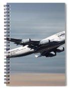 Lufthansa Boeing 747-430 Spiral Notebook