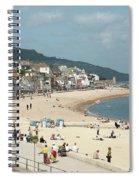 Lyme Regis Beach Spiral Notebook