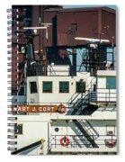 M/v Stewart J. Cort Spiral Notebook