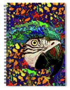 Macaw High II Spiral Notebook