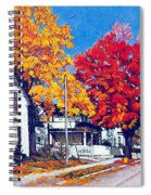 Machelle Street, Spiral Notebook