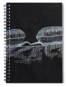 Macular Hole Oct Spiral Notebook