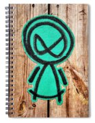 Mad Alien Spiral Notebook