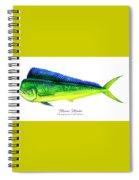 Mahi Mahi Spiral Notebook