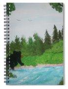 Maine Black Bear Spiral Notebook