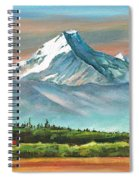 Majestic Mount Cook Spiral Notebook