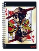 Makiavellian Conundrum - Tupac Shakur Spiral Notebook