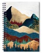 Malachite Mountains Spiral Notebook