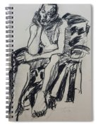 Male Nude I Spiral Notebook