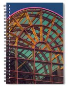 Mall Sundown Spiral Notebook
