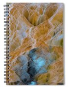 Mammoth Hot Springs Spiral Notebook