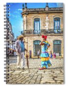 Man And Woman Spiral Notebook