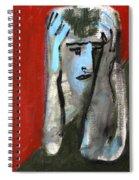 Man At A Bar Spiral Notebook