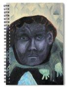 Man With Udders Spiral Notebook