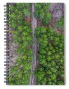 Manistee Pines Panorama Spiral Notebook