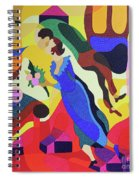 Marc And Bella Chagall Spiral Notebook