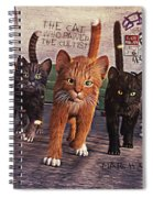 March Of The Mau Spiral Notebook