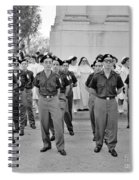Marchers And Convent Members Spiral Notebook