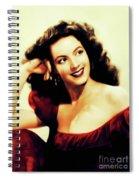Maria Felix, Vintage Actress Spiral Notebook